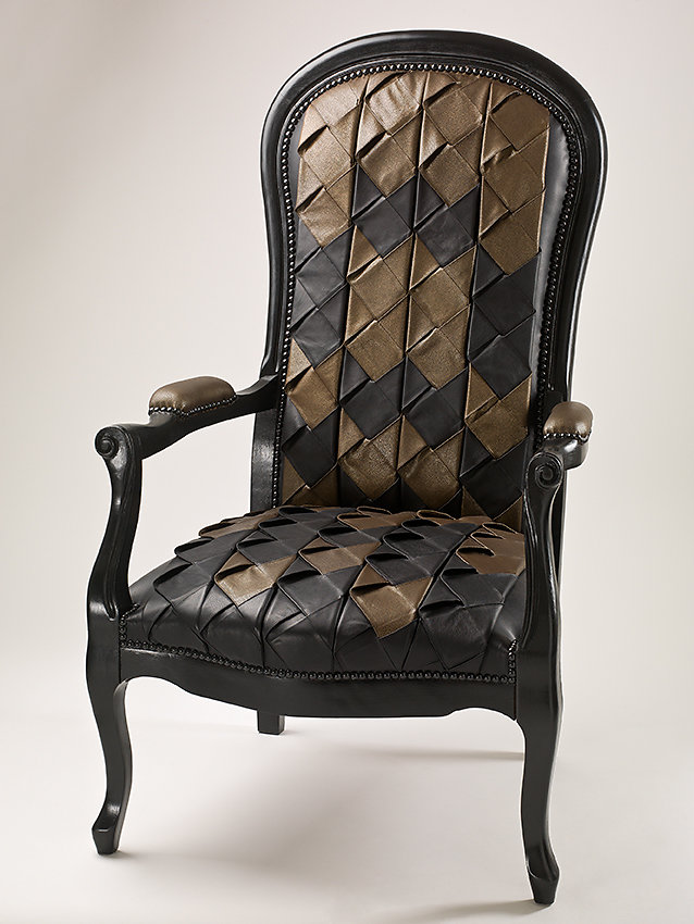 Fauteuil cuir Obsession - Marionnet