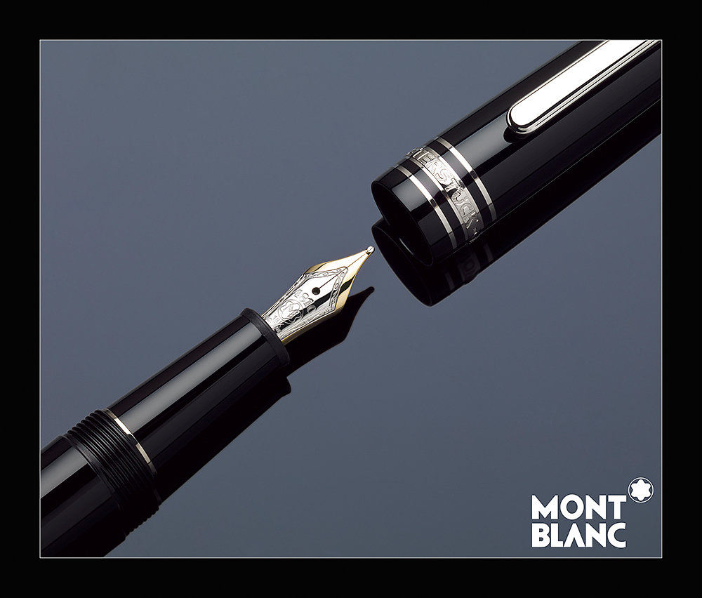 Stylo plume Mont Blanc
