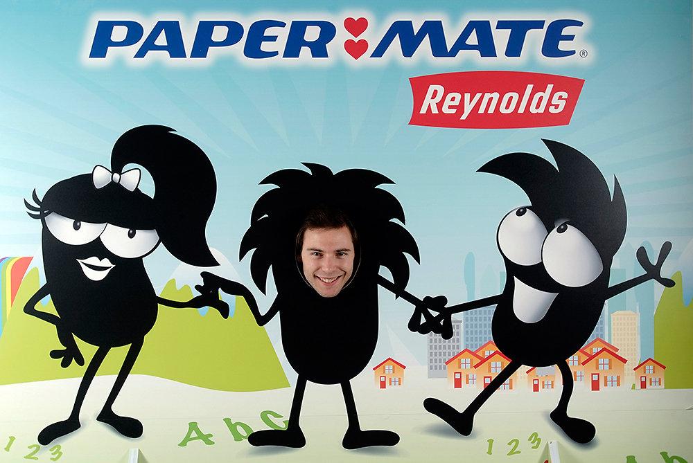 Agence BMRP évènementiel Paper Mate