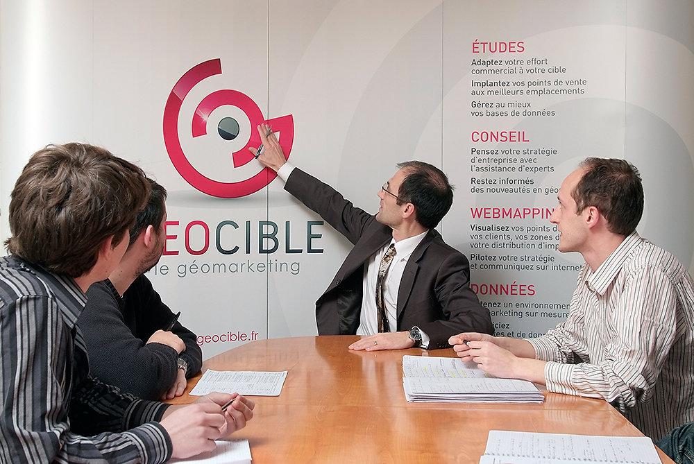 Reportage entreprise Geocible