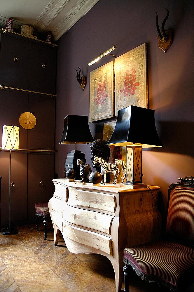 Appartement d'Oscar Larrat, Paris