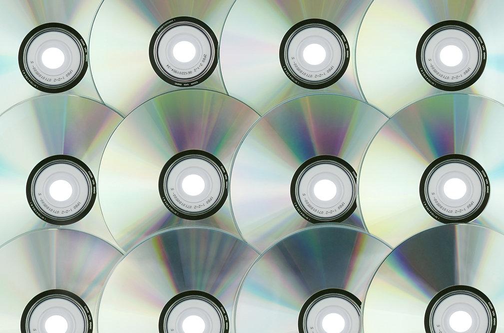 Photo d'illustration CD DVD