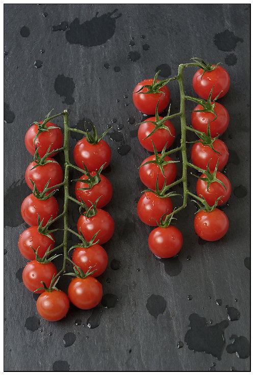 Photo Tomates sur Ardoise