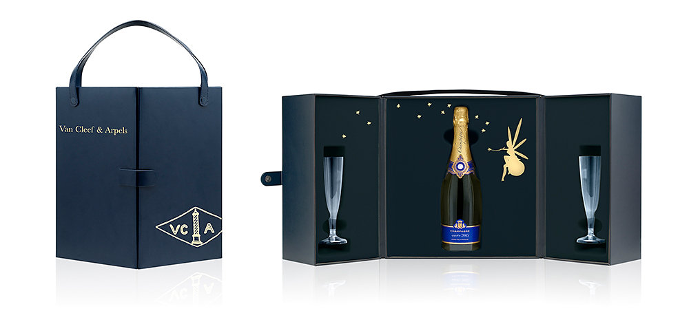 Photo d'un coffret Champage VCA