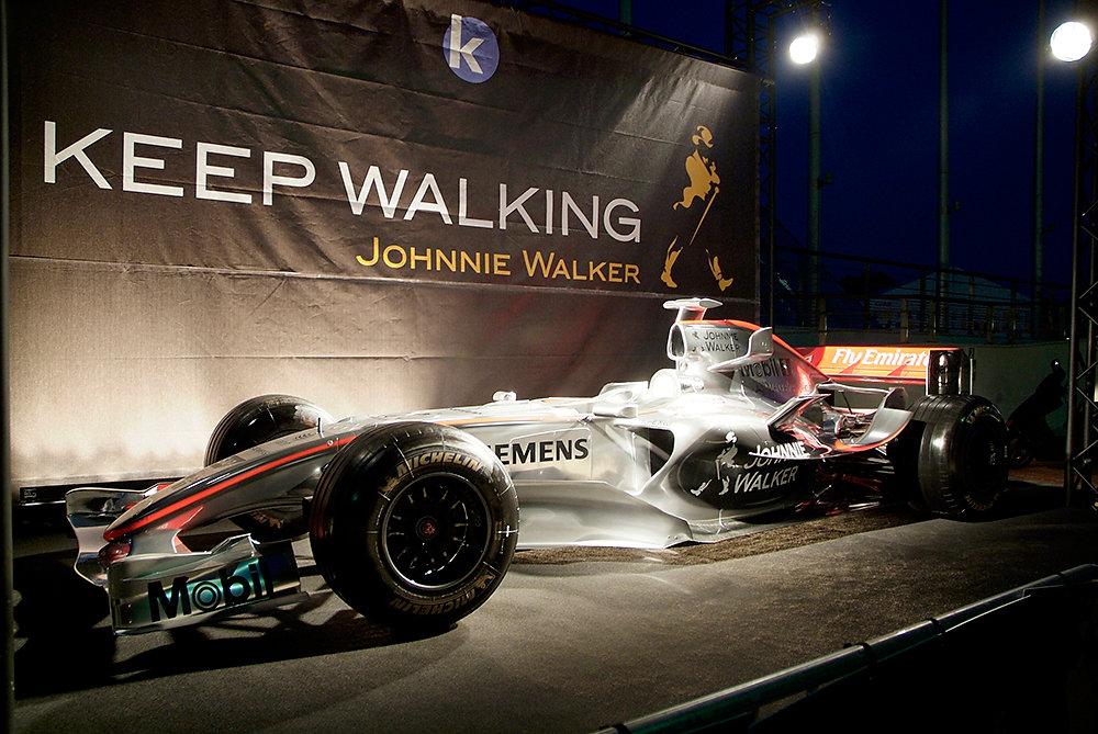 Johnny Walker - Grand Prix de F1 à Monaco